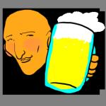 ビールで水分補給
