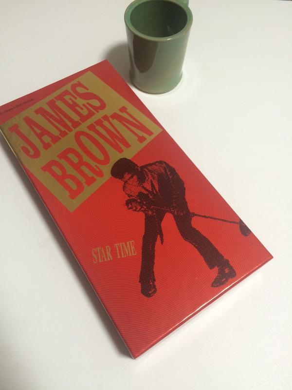 ジェームス・ブラウンのベスト盤「スター・タイム」