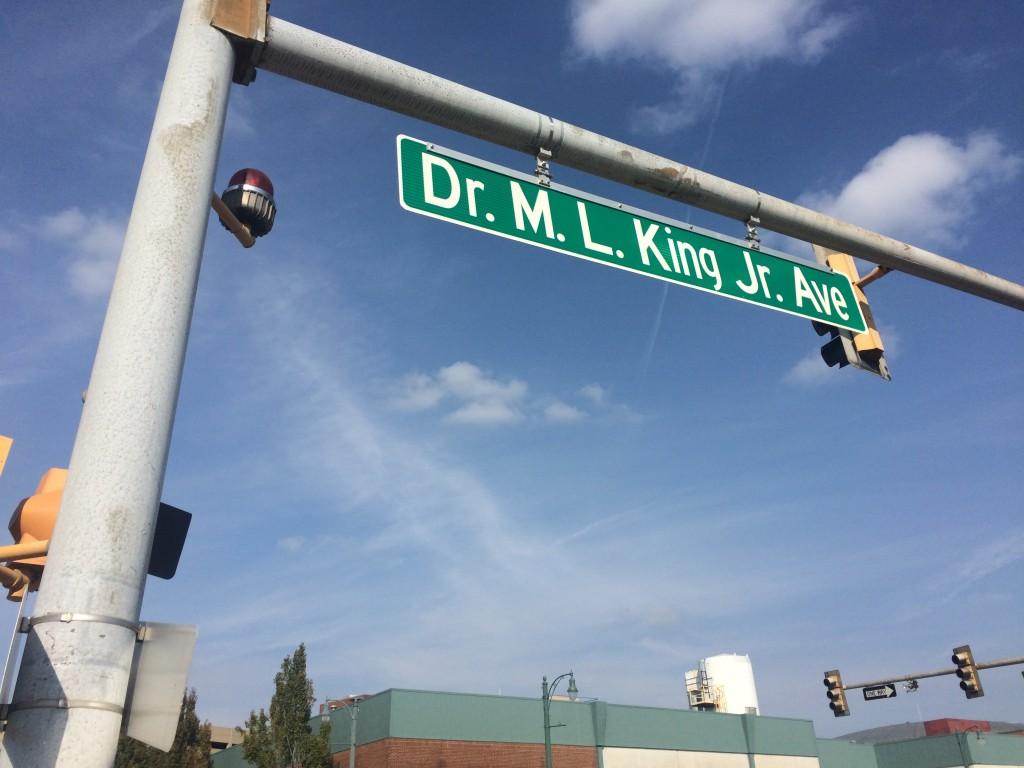 マーティン・ルーサー・キング牧師のストリート