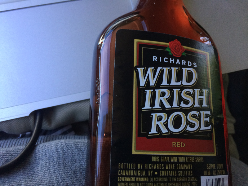 ウイスキーと思ったらワイン
