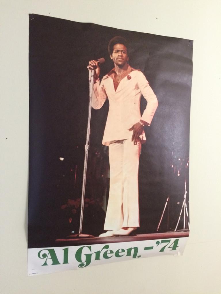 Al Green's Poster