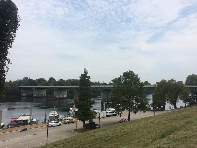 ジェームス・ブラウンが逮捕されたと思われる橋