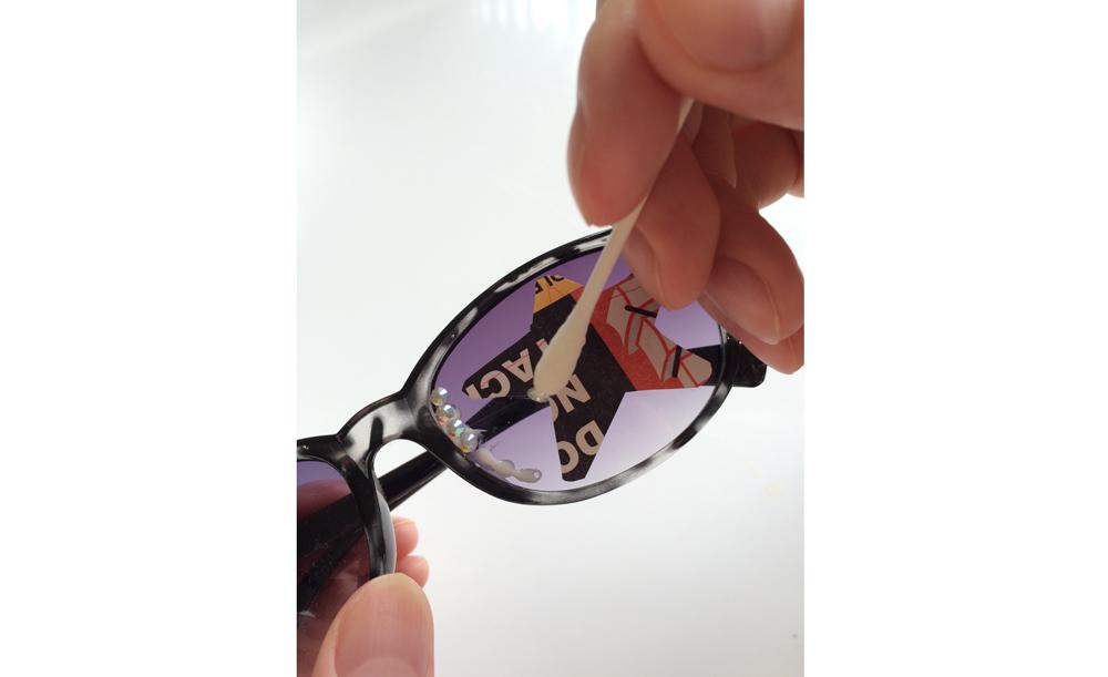 ブーツィのサングラスを自作します