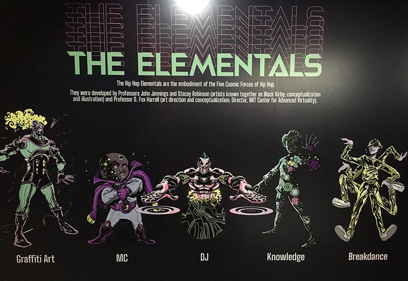 hip hop 5 elementals